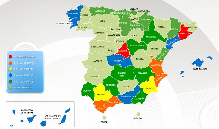 Mapa Corrupcion España 2017.La Moncloa 27 03 2017 Seguridad Espana Ediciones De