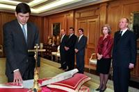 20/01/1999. 23 Sixth Legislature (3). Cabinet from January 1999 to April 1999. The new Minister for Employment and Social Affairs, Manuel Pi...