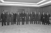 3/05/1980. 4 First legislature (2). Cabinet from May 1980 to September 1980. The new ministers, together with the King and the President of ...