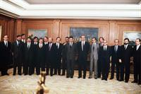 3/12/1982. 9 Second Legislature (1). Cabinet from December 1982 to July 1985. The King, together with the first PSOE Government.