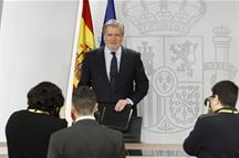 El ministro de Educación, Cultura y Deporte y portavoz del Gobierno, Íñigo Méndez de Vigo