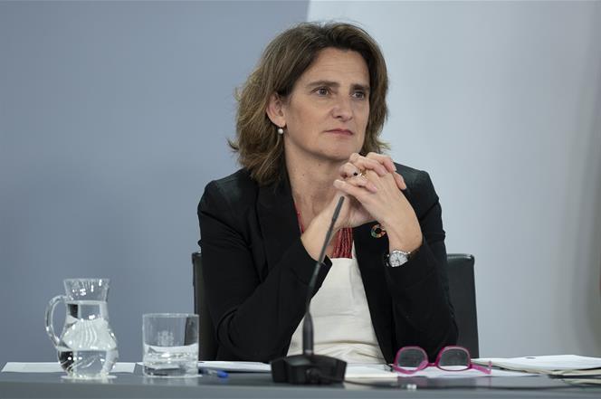2/06/2020. Consejo de Ministros: Montero, Ribera e Illa. La vicepresidenta cuarta y ministra para la Transición Ecológica y el Reto Demográf...