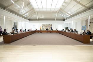 Reunión del Consejo de Ministros extraordinario