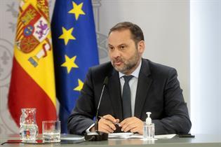 José Luis Ábalos durante la rueda de prensa posterior al Consejo de Ministros