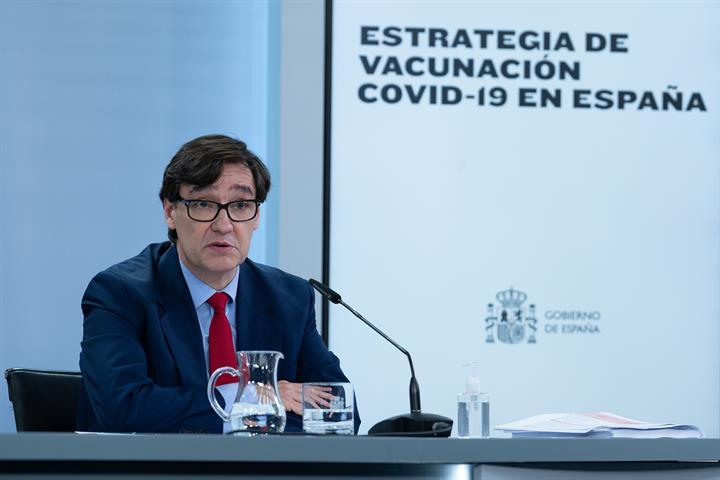 El Gobierno fija tres etapas para el plan de vacunación en España