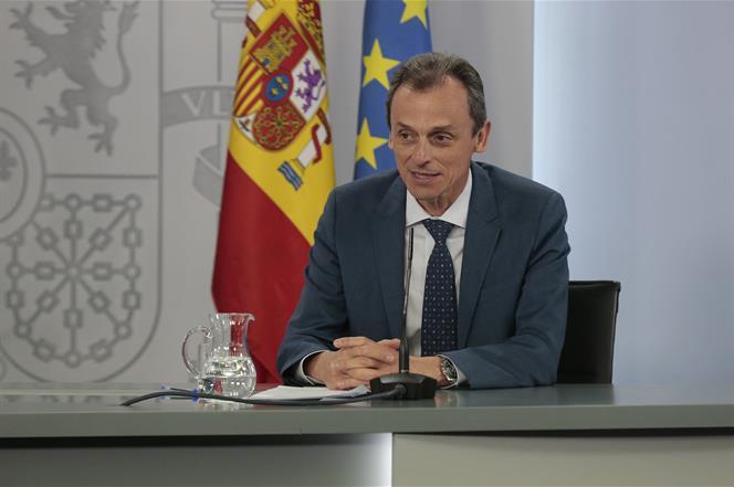 30/06/2020. Consejo de Ministros: Planas, Montero y Duque. El ministro de Ciencia e Innovación, Pedro Duque, durante la rueda de prensa post...