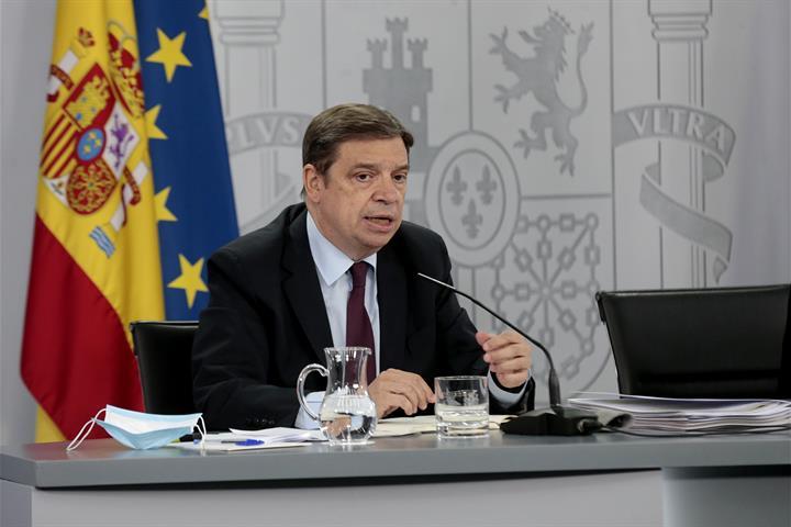 Luis Planas durante su intervención