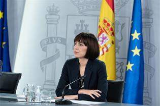 Diana Morant durante la rueda de prensa posterior al Consejo de Ministros