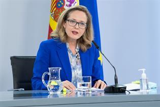 Tercera Vicepresidenta y Ministra de Economía y Transformación Digital, Nadia Calvinho