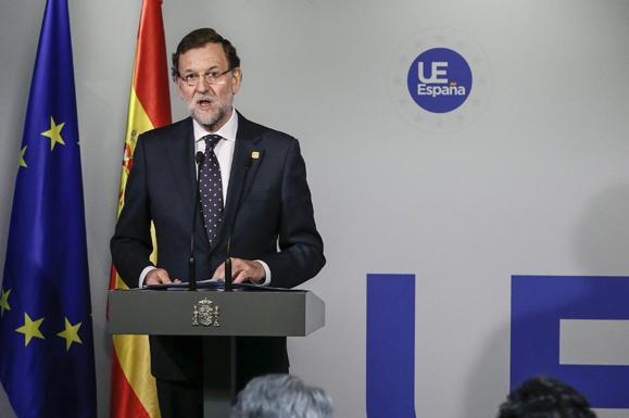 [Gobierno] Rueda de Prensa de Mariano Rajoy tras el Consejo Europeo del 24 de Enero 614B-4F83-0000125332