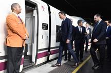 Pedro Sánchez, en la inauguración de la línea de alta velocidad Madrid-Antequera-Granada