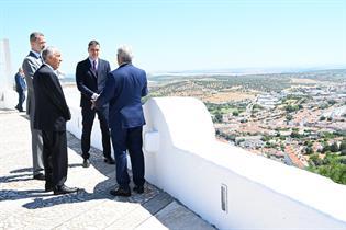 Acto de reapertura en la localidad portuguesa de Elvas