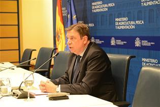 Luis Plana, en rueda de prensa