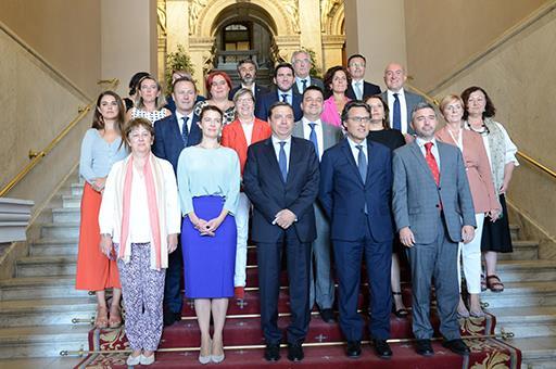 Luis Planas y los consejeros y consejeras de las comunidades autónomas