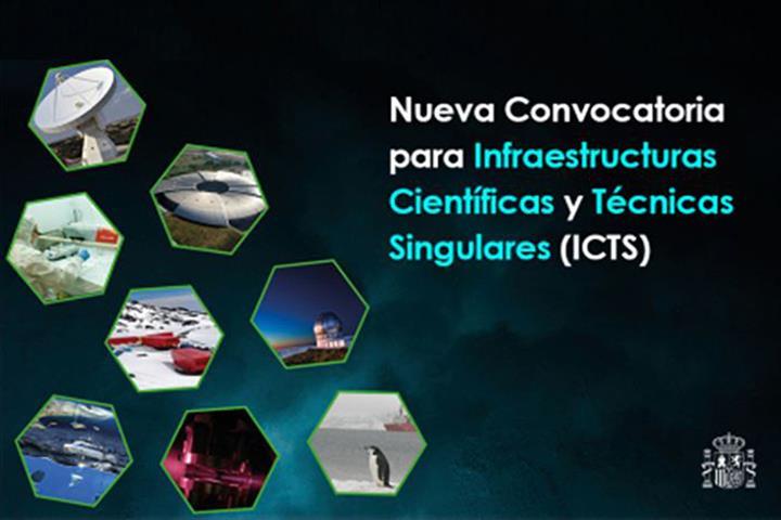 Convocatoria para Infraestructuras Científicas y Técnicas Singulares