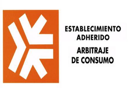 Logo de establecimiento adherido a arbitraje de Consumo