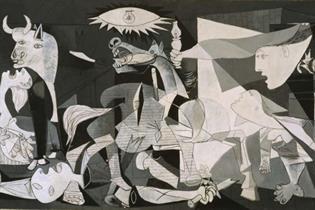 El Guernica de Picasso expuesto en el Museo Nacional Thyssen-Bornemisza