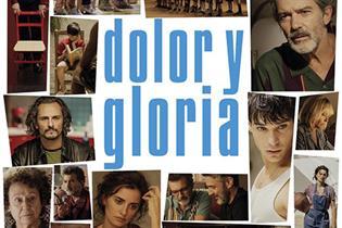 Cartel de la película Dolor y Gloria de Almodóvar
