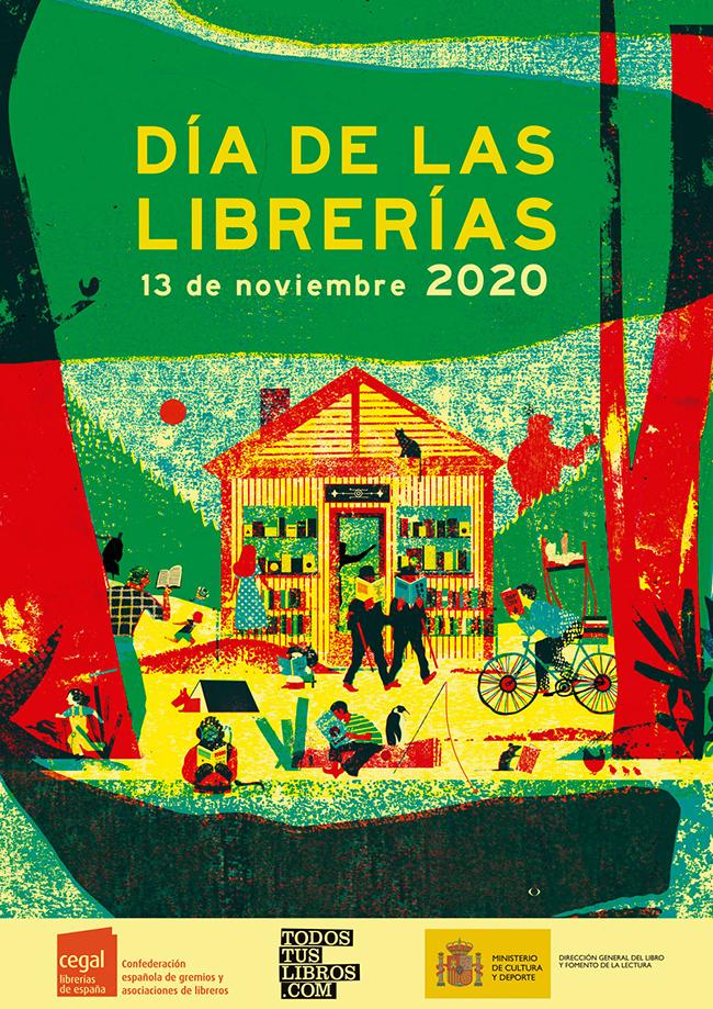 Cartel compleo Día de las Librerías 2020