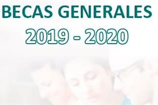 Becas generales 2019-2020