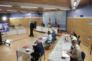 Reuni?n de la Conferencia Multisectorial de Educaci?n y Sanidad entre Gobierno y comunidades aut?nomas, por videoconferencia