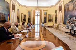 Reunión semipresencial Conferencia Sectorial del Sistema de Cualificaciones y Formación Profesional para el Empleo