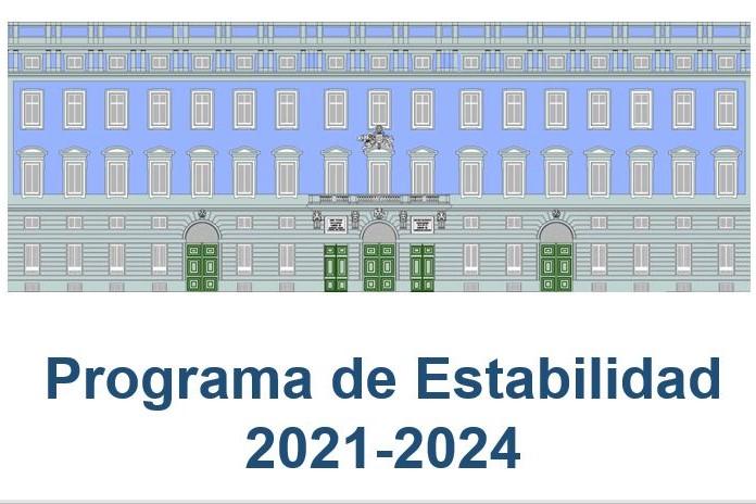 Cartel Programa de Estabilidad 2021-2024