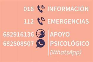 Teléfonos de información, emergencias y apoyo psicológico