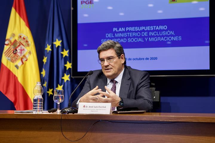 El ministro de Inclusión, Seguridad Social y Migraciones, José Luis Escrivá sobre el ingreso mínimo
