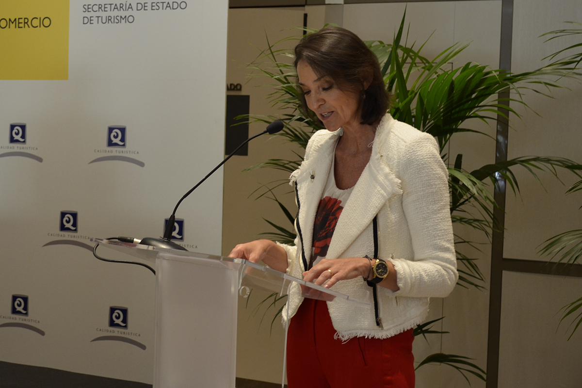 "6/07/2020. ""Underpinning confidence in Spanish quality and safety is one of the great challenges"", says Reyes Maroto"