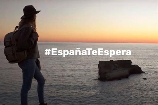 Campaña Turespaña España te espera turismo visitantes internacionales