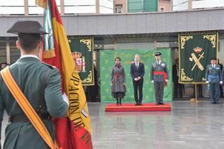 Acto de la toma de posesión de María Gámez como directora general de la Guardia Civil
