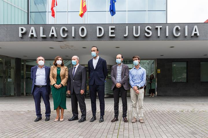 """Campo: """"los hechos demuestran que la digitalización es ya una realidad en la justicia"""""""