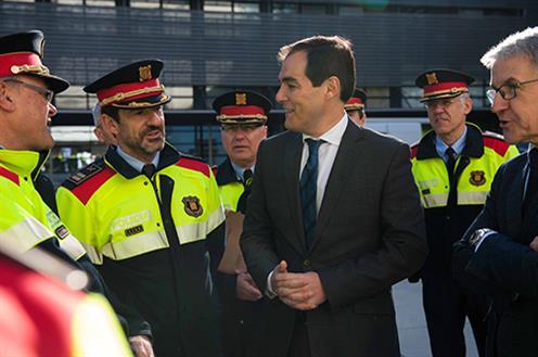 El secretario de Estado de Seguridad ha visitado el Complejo Central de la Policía de la Generalitat – Mossos d´Esquadra