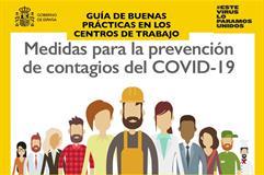 10/04/2020. Logo cartel de la campaña Seguridad en el trabajo