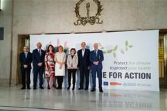 "7/12/2019. Carcedo inaugurala jornada ""Acceleration: driving climate action to protect health"""