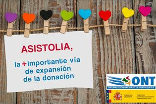 Cartel de Asistolia, de la Organización Nacional de Transplantes