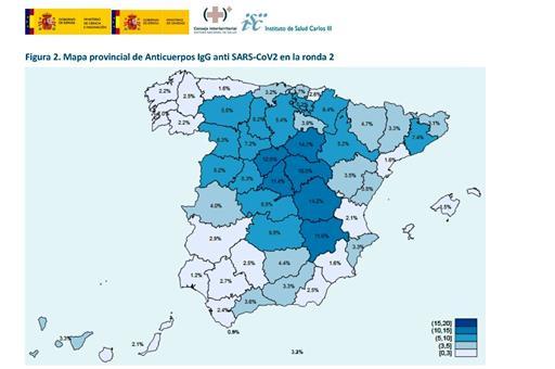 Mapa de seroprevalencia