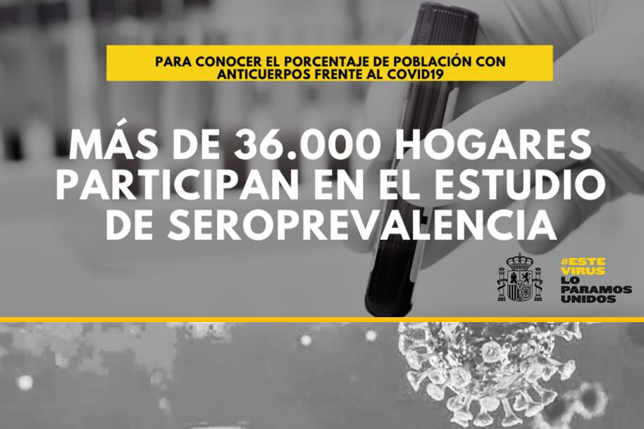 La Moncloa 27 04 2020 Seroprevalence Study To Estimate Percentage Of Spanish Population That Has Developed Antibodies Against Covid 19 To Begin Government News
