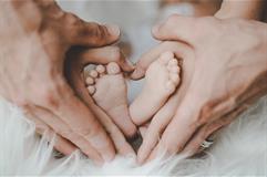 Bebé y sus progenitores