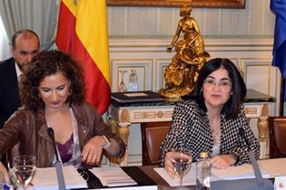 Carolina Darias y María Jesús Montero