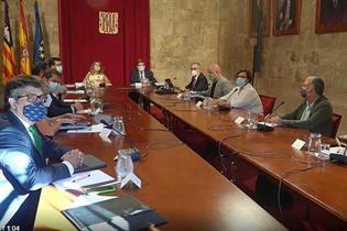 Imagen de la reunión de la Comisi?n de Seguimiento Tripartita Laboral