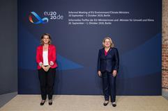 La vicepresidenta Ribera en el Consejo Informal de Ministros de Medio Ambiente de la UE en Berlín