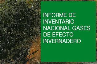 Portada del Inventario de Emisiones de Gases de Efecto Invernadero