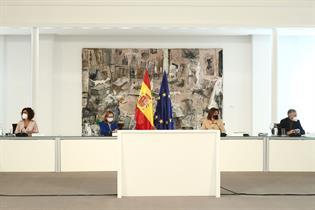 La vicepresidenta Teresa Ribera ha presidido la reunión