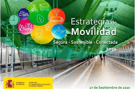 Cartel de la presentación de la Estrategia de Movilidad